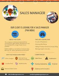 Advertising Sales Manager Sales Manager Infographics Png