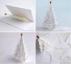 tree card tutorial pop up design card