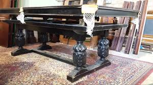 riley antique refectory snooker dining table restoration browns