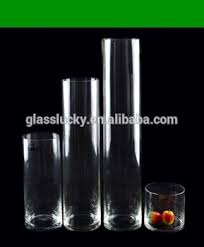 Cylinder Clear Glass Vases Tall Cylinder Clear Glass Vase For Flower Arrangements Buy Tall