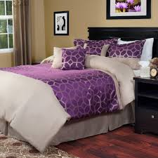 black and white girls bedding bedroom amuse for girls with purple color scheme and beautiful