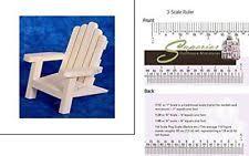Miniature Adirondack Chair Miniature Adirondack Chair Ebay