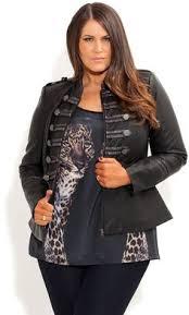 city chic military mayhem jacket women u0027s plus size fashion