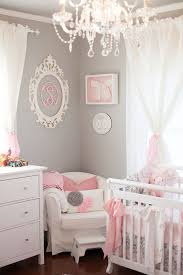 Best Pink And Grey Rooms Images On Pinterest Babies Nursery - Baby bedroom ideas girl
