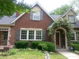 Shutters For Homes Exterior - an idea of what the windows might look like if casement trim is