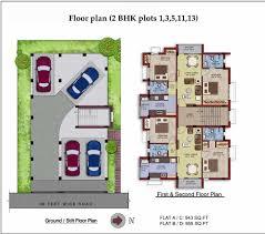 Stilt House Floor Plans by 2400 Square Feet House Plans India