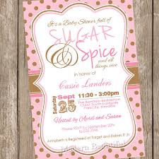 sugar and spice baby shower sugar and spice baby shower invites invitation ideas