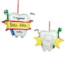 dental hygienists glass ornament dental hygienist dental and
