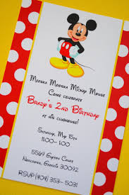 mickey mouse 2nd birthday invitations 99 best joel u0027s 3rd b day time to mickey mousekercise images on
