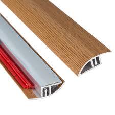 Laminate Floor Reducer Strip Floor Transition Strip Self Adhesive Threshold Border Mahogany