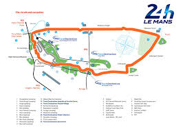 Circuit Of The Americas Track Map by 24 Hours Of Le Mans Preview The Typewriter