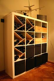 how to build a wine rack in a cabinet diy wine cellar
