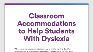 Floor Plan Of A Preschool Classroom by Accommodations For Students With Dyslexia Help In The Classroom