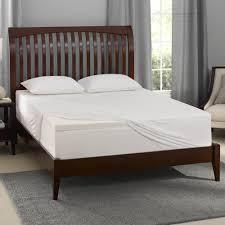 Full Size Memory Foam Mattress Topper Bedroom Crystal Chandelier Ceiling Light Black Fabric Bedding