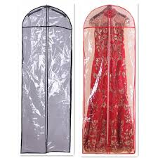 wedding dress covers length 147cm pvc hot sale cheap wedding dress bag clothes dust