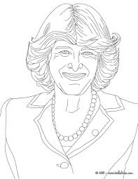 camila duchess of cornwall coloring pages hellokids com
