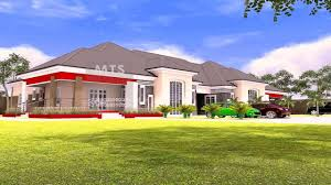 5 bedroom bungalow house plans nigeria youtube