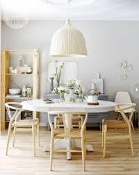 deco cuisine scandinave déco cuisine scandinave étagère bois table blanche