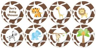 safari cake toppers 10 baby shower cupcake toppers that you must see