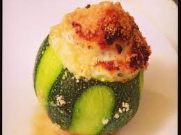 cuisiner courgette ronde courgettes rondes farcies à la ricotta par mély34 une recette de