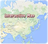 map of countries of asia asia atlas maps of countries