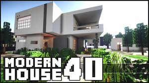 Modern Houes Minecraft Modern House 40 Youtube