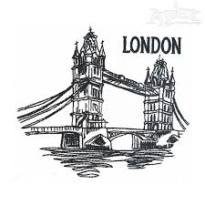london city embroidery design