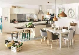 cuisine avec ilot central et table cuisine ilot table ou table cuisine lot central photos c t cuisine