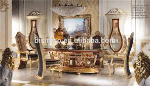 Royal Dining Room Italian Royal Dining Room Furniture Set Imperial Wood Carving And