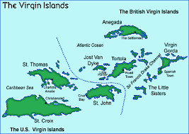 map of the bvi islands cruising sailing vancouver sailing club