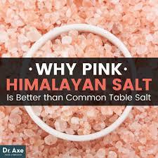 salt crystal l benefits pink himalayan salt benefits that make it superior to table salt