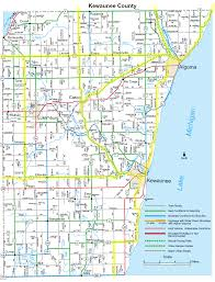 Door County Wisconsin Map by Bike Milwaukee To Door County