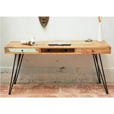 table de bureau en bois table de bureau design excellent table de bureau en bois design