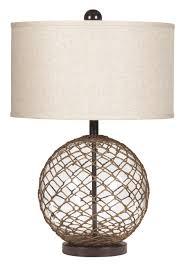 Table And Floor Lamp Set Buy Ashley Furniture L439564 Regina Glass Table Lamp
