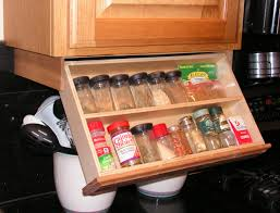 In Drawer Spice Racks Under Cabinet Spice Rack