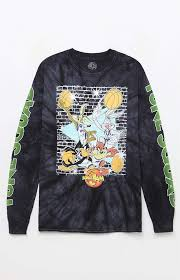 space jam sweater space jam tune squad washed sleeve t shirt at pacsun com