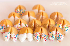 Where Can You Buy Fortune Cookies Glitter Dipped Fortune Cookie Party Favors Happiness Is Homemade