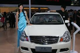 nissan sylphy 2014 nissan leaf electric car at guangzhou motor show 广州国际汽车展览