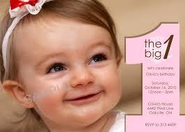 1st Birthday Invitation Card Samples 1st Birthday Invitation Templates Iidaemilia Com