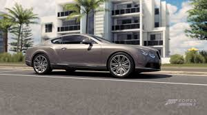continental bentley forza horizon 3 cars