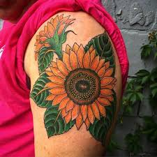 125 top rated sunflower tattoos wild tattoo art