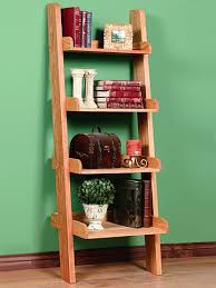 Diy Ladder Bookshelf Keep A Style In Your Corner By Using A Ladder Bookcase For Storage