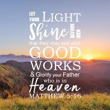 let your light shine vacation bible matthew 5 16 let your light shine before men free bible art