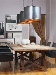 dining room table lighting 6 dining room trends to try hgtv