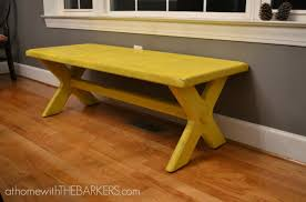 31 days bench makeover at home with the barkers