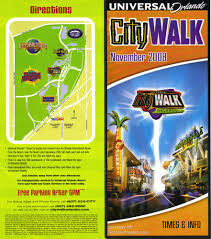 Universal Orlando Maps by Universal Citywalk Guidemaps