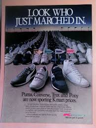 kmart s boots on sale vintage print ad si 1984 kmart converse trax pony sneakers