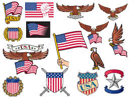 Flags Of United States United States Of America Symbols American Flying Eagle Holding