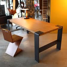 bureau industriel table bureau industriel les nouveaux brocanteurs