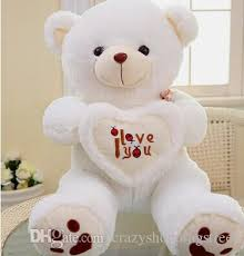 big valentines day teddy bears beige big plush teddy soft gift for day